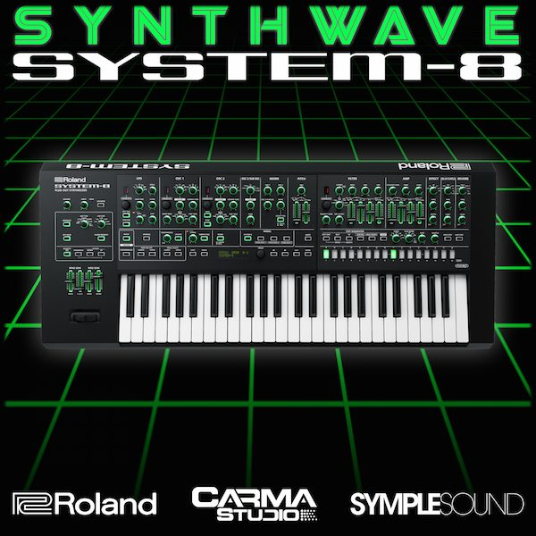 Synthwave for Roland System-8